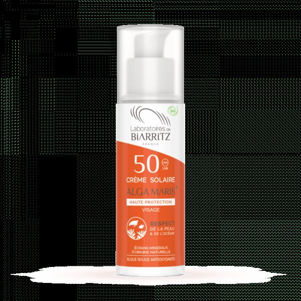 Crème solaire visage adulte (SPF30 - SPF50)