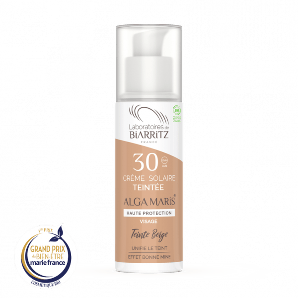 Crème teintée visage (SPF30)