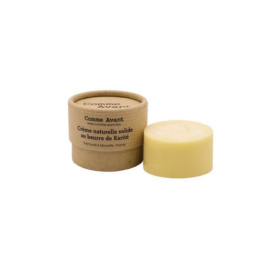 Crème hydratante naturelle solide