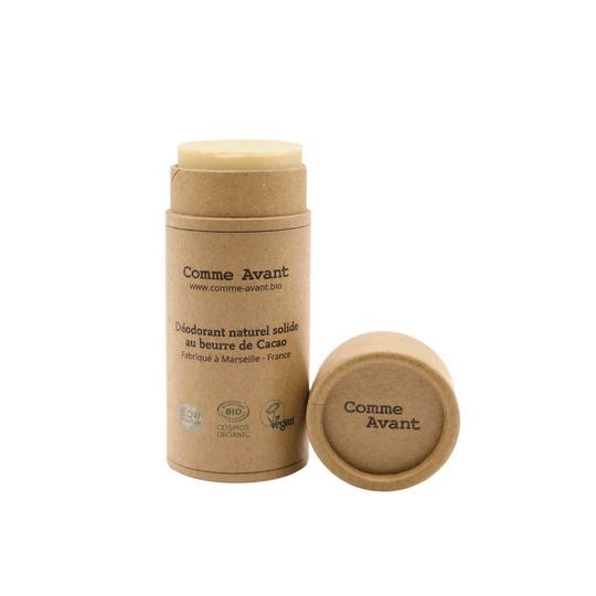 Déodorant solide naturel