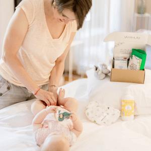 Box cosmétiques jeune maman